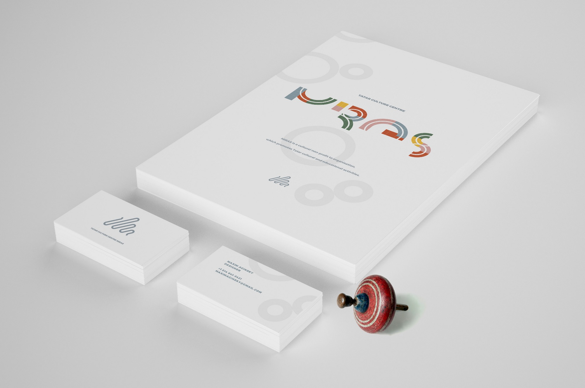 Business card, Booklet cover