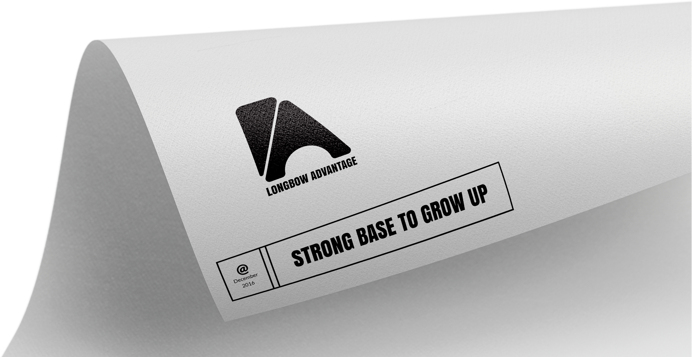 Logo and slogan for Longbow Advantage Montreal creator of Rebus Analytics Platform