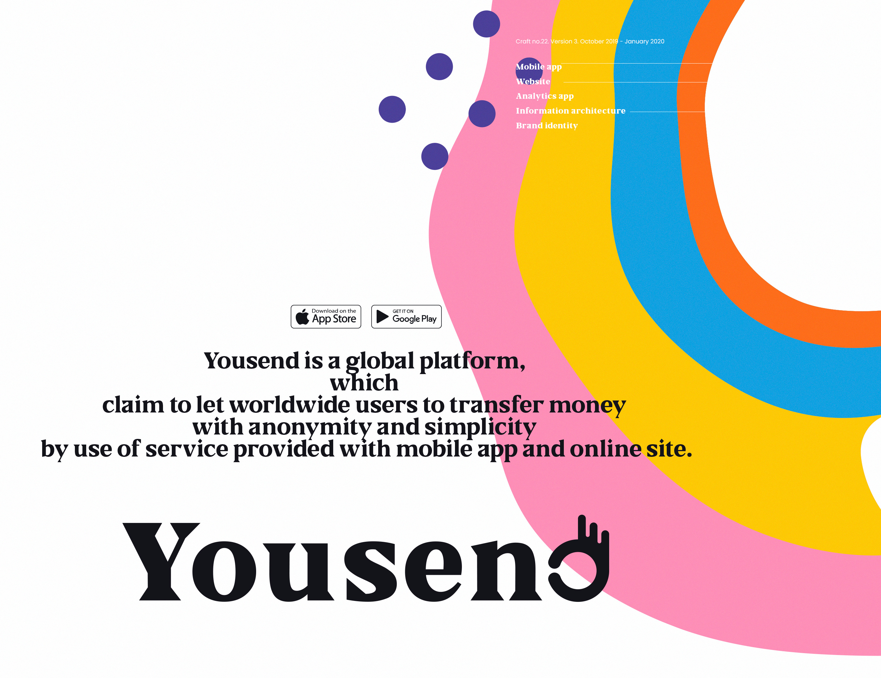 Yousend - money transfer app. More anonymity, less hassle way to transfer money.